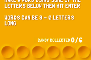 278333 word candy