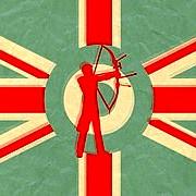 215779 archery paper style