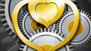 255619 a metal heart