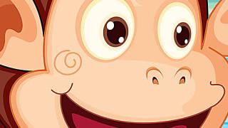 436292 cute monkey balance unknown