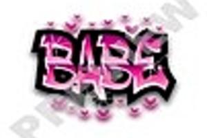 159993 babe graffiti