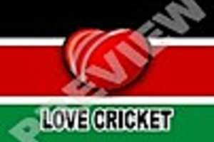 195386 kenya cricket flag