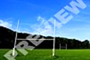 195491 rugby goal posts