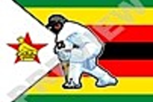 195761 zimbabwe cricket player flag