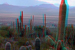 203694 3d dusk on desert landscape