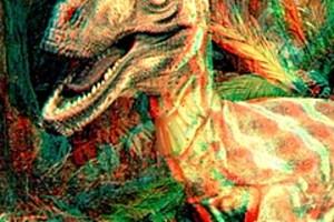 203713 3d velociraptor