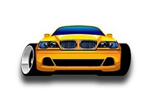 207004 yellow car
