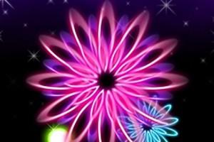 210411 neon flowers