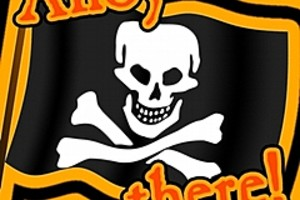 211791 ahoy there pirate flag