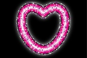 253209 neon heart