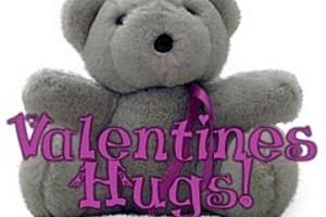 253223 valentine bear hugs