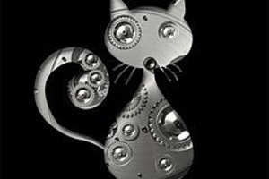 255579 a mechanical cat