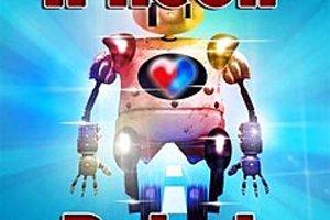 272612 a neon robot