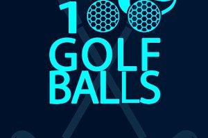 279469 100 golf balls