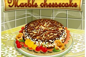 279567 marble cheesecake