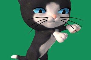285639 dancing cat