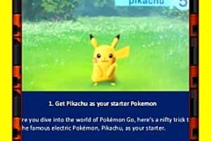 298719 pokemon go get pikachu as your starter pokemon