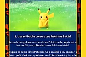 404278 usa o pikachu como o teu pok mon inicial