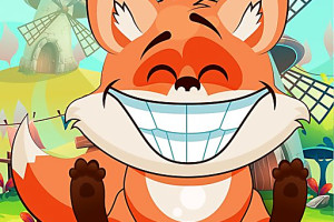423303 happy fox