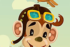 443788 tommy the monkey pilot