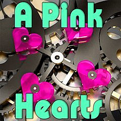 255627 a pink hearts