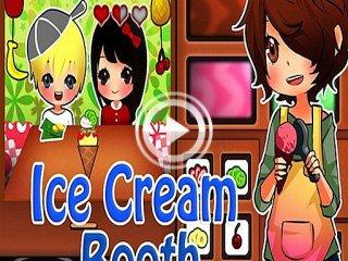 279553 ice cream booth