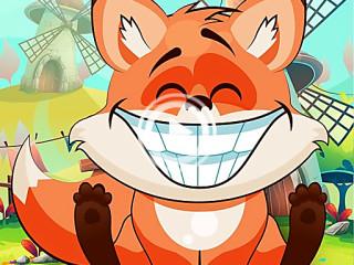 423303 happy fox