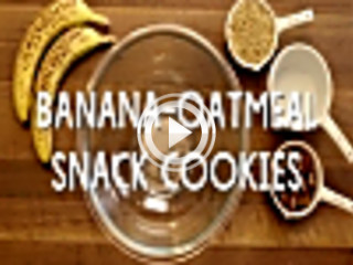 437194 banana oatmeal snack cookies unknown