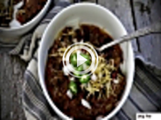 438785 spicy slow cooked chili unknown