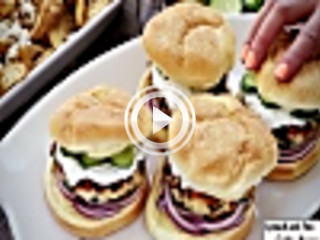 438798 spinach and feta turkey burgers unknown