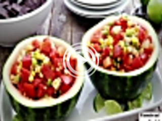 439095 watermelon and corn salsa unknown