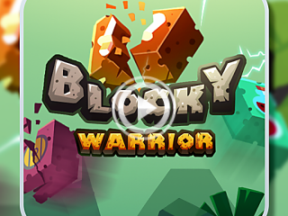 455740 blocky warrior