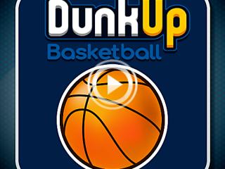 455747 dunk up basketball