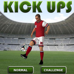 288007 soccer kick ups