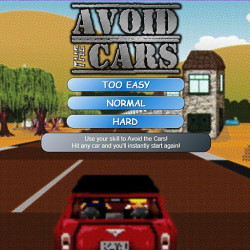 288989 avoid the cars