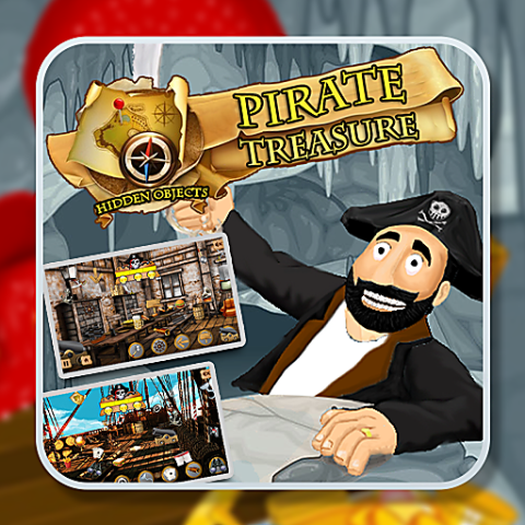 455711 hidden objects pirate treasure