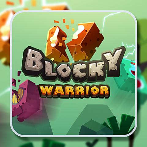 455740 blocky warrior
