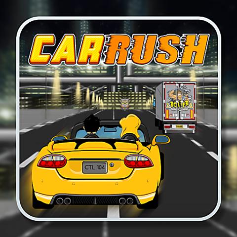 455757 car rush