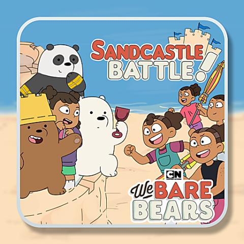 455776 we bare bears sandcastle battle
