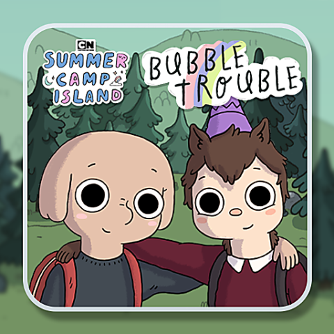455781 summer camp island bubble trouble