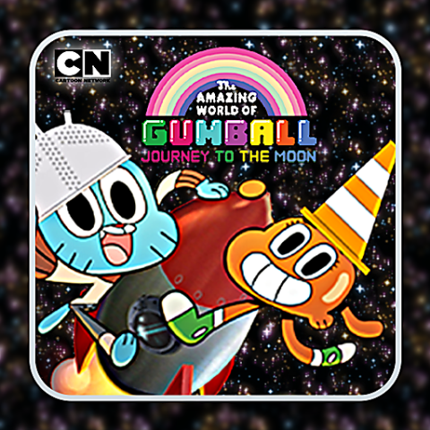 455877 gumball journey to the moon