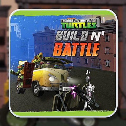 455891 teenage mutant ninja turtles build n battle