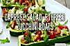 437309 caprese salad stuffed zucchini boats unknown